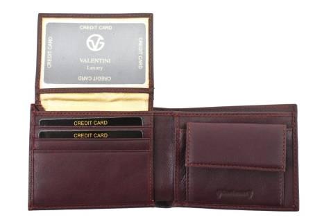 Pánská kožená peněženka  na šířku  Valentini