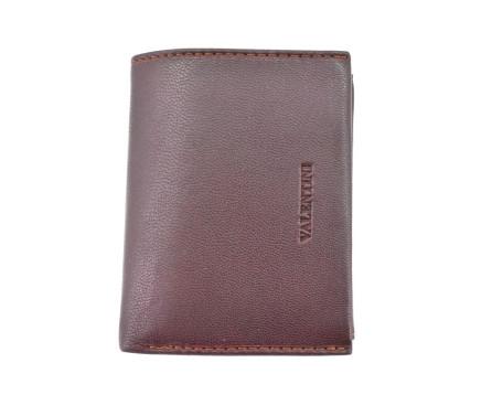 Kožená peněženka  na výšku  Valentini