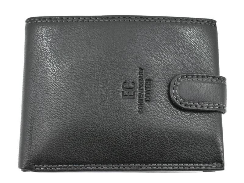 Pánská kožená peněženka na šířku se zápinkou Coveri  4fdce17f10