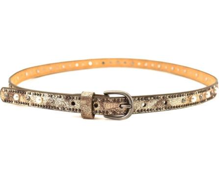 Dámský/dívčí pásek s ozdobnými kamínky Arteddy