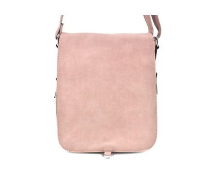 Dámská kabelka crossbody Herisson - růžová