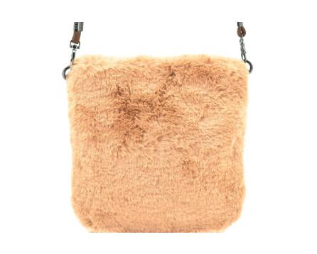 Dámská kabelka crossbody Herisson / s umělé kožešiny