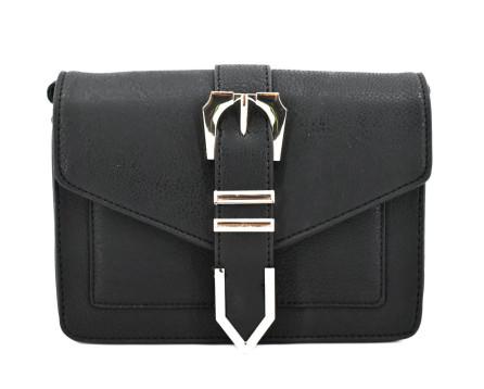 Dámská kabelka crossbody Valentina - černá