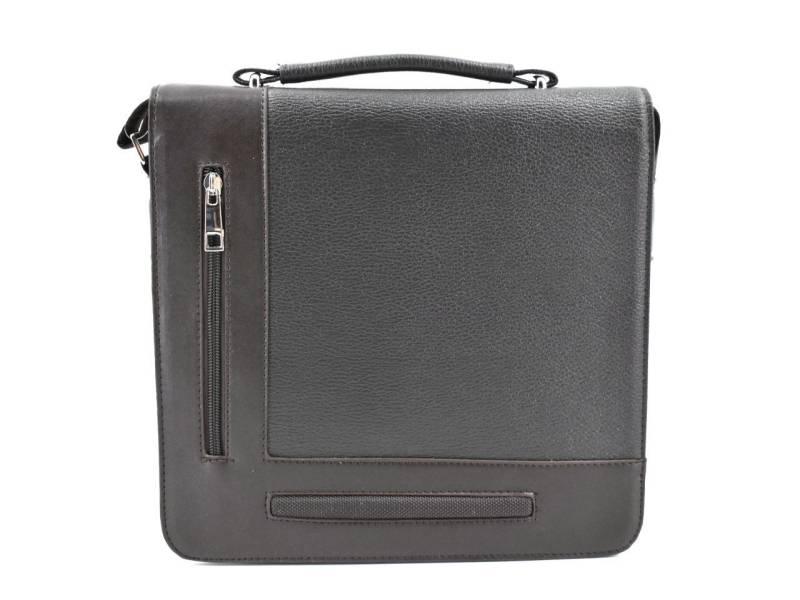 Pánská taška přes rameno s klopnou - tmavě hnědá. novinka 1a5a2acd51b
