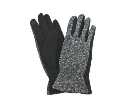Dámské rukavice Arteddy - stříbrná/černá