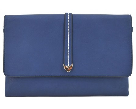 Dámská kabelka psaníčko - tmavě modrá