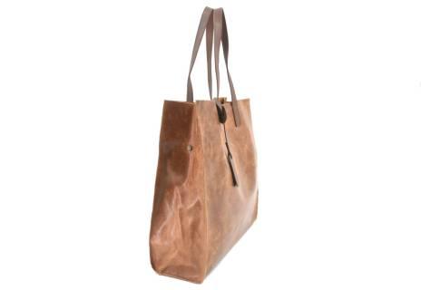 Dámská velká kožená kabelka Arteddy