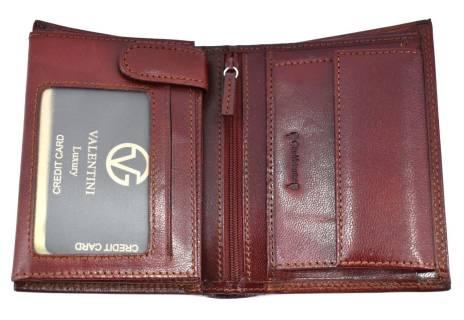 Pánská kožená peněženka  s orientací na výšku Valentini