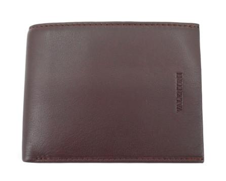Pánská kožená peněženka na šířku Valentini - tmavě hnědá