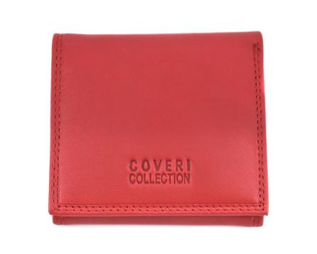 Kožená malá peněženka Coveri