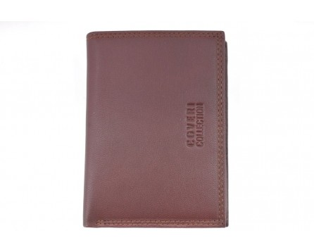 Pánská kožená peněženka  s orientací na výšku Coveri