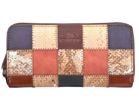 Dámská kožená peněženka pouzdrového typu Charro