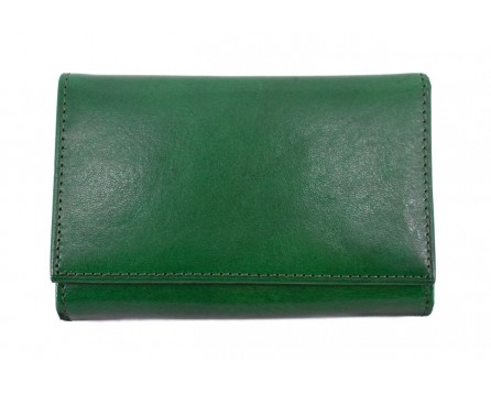Dámská malá kožená peněženka Arteddy - zelená