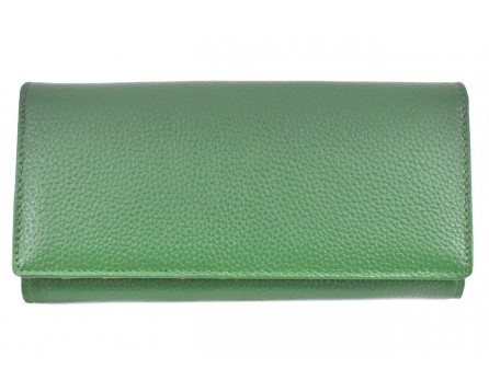 Dámská velká kožená peněženka Arteddy - zelená