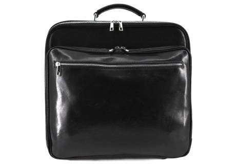Cestovní pilotní kožený kufr Arteddy 40l