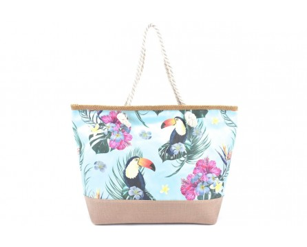 Velká plážová taška s potiskem