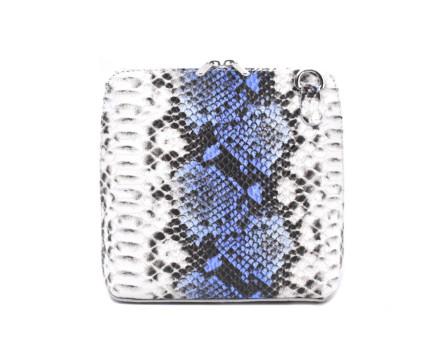 Dámská / dívčí malá  kožená kabelka  se vzorem hadí kůže Arteddy