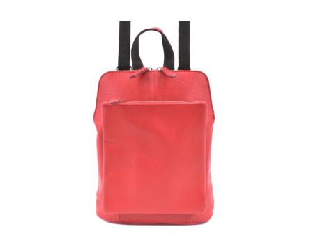 Dámský / dívčí kožený batoh a kabelka v jednom  Arteddy