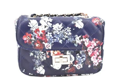 Dámská / dívčí květovaná kabelka