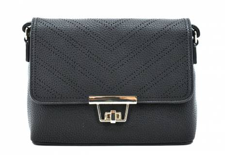 Dámská elegantní kabelka s klopnou