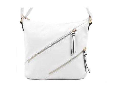 Dámská kabelka crossbody - krémová