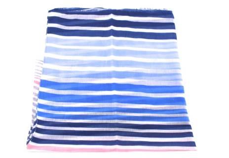 Dámský šátek s pruhovaným vzorem