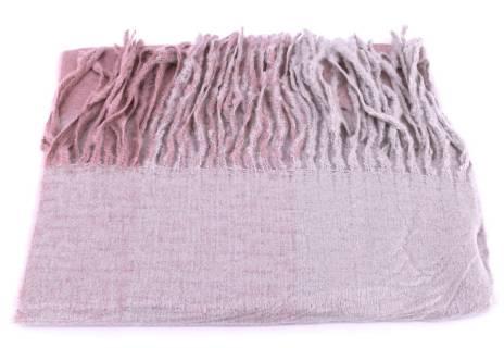 Dámská zimní šála Arteddy - růžová