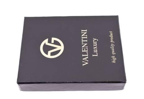 Pánská kožená peněženka Valentini - černá
