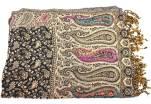 Dámský šátek s kašmírovým vzorem