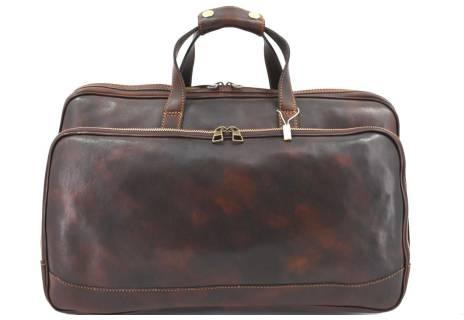 Cestovní kožena taška na kolečkách Arteddy 36l