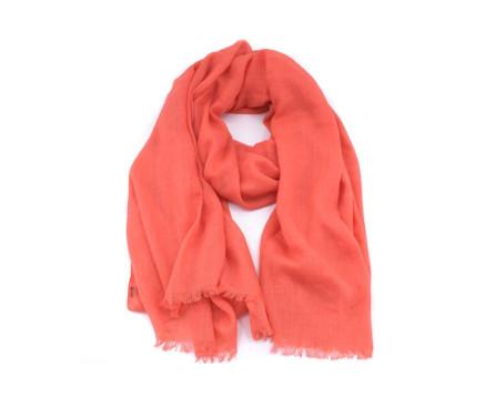 Moderní dámský šátek - světle červená