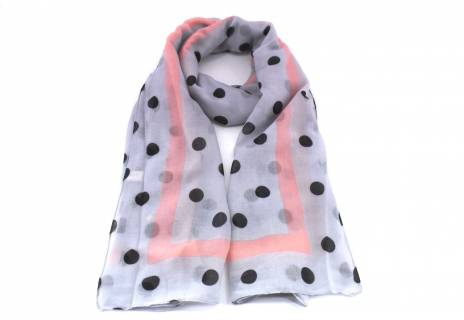 Dámský šátek s puntíky