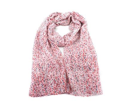 Moderní dámský šátek - červená