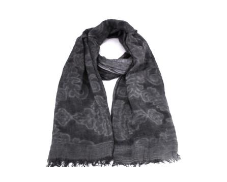 Dámský šátek - tmavě šedá