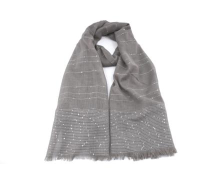 Dámský šátek - taupe