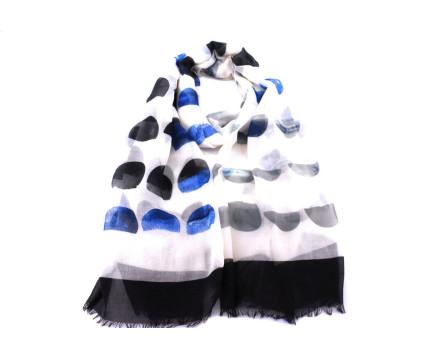 Dámský šátek - modrá