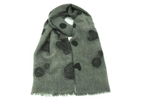 Dámský šátek - tmavě zelená