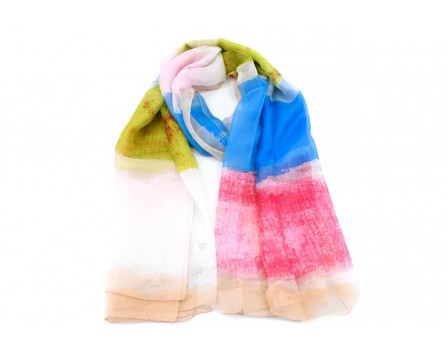 Dámský multicolor šátek