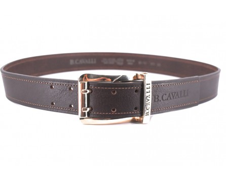Kožený opasek B.Cavalli Made in italy