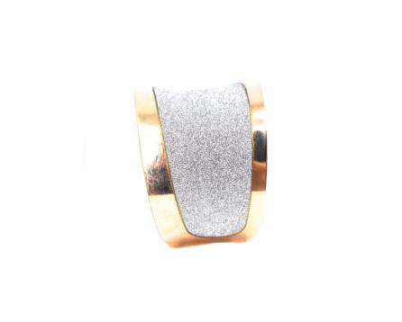 Náramek - zlatá/stříbrná