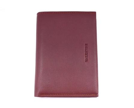 Kožená peněženka Valentini s orientací na výšku