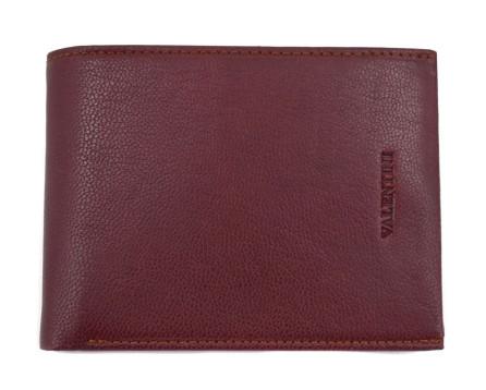 Kožená peněženka Valentini - hnědá