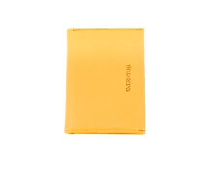Kožená peněženka Valentini - žlutá