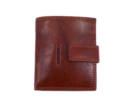 Kožená peněženka Charro na výšku se zápinkou