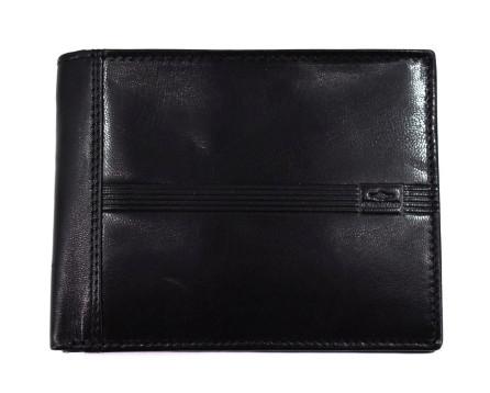 Kožená peněženka Charro - černá