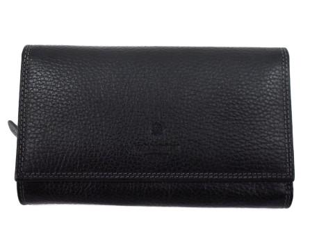 Kožená peněženka Valentini Gino - černá