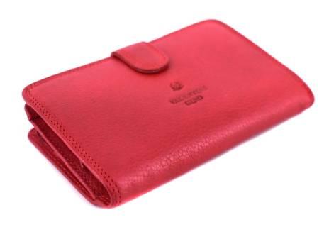 Kožená peněženka Valentini Gino - červená
