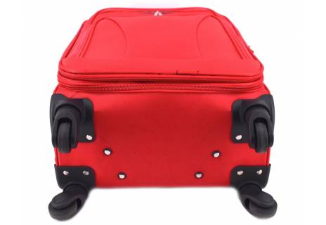 Cestovní textilní kufr na čtyřech kolečkách Agrado (L) 110l