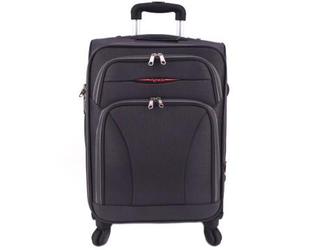 Cestovní textilní kufr na čtyřech kolečkách Agrado (S) 45l