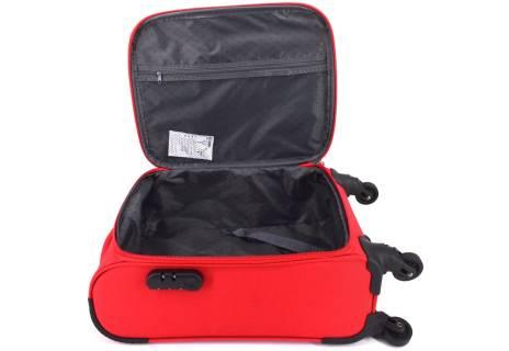 Cestovní textilní kufr na čtyřech kolečkách Agrado (XS) 35l